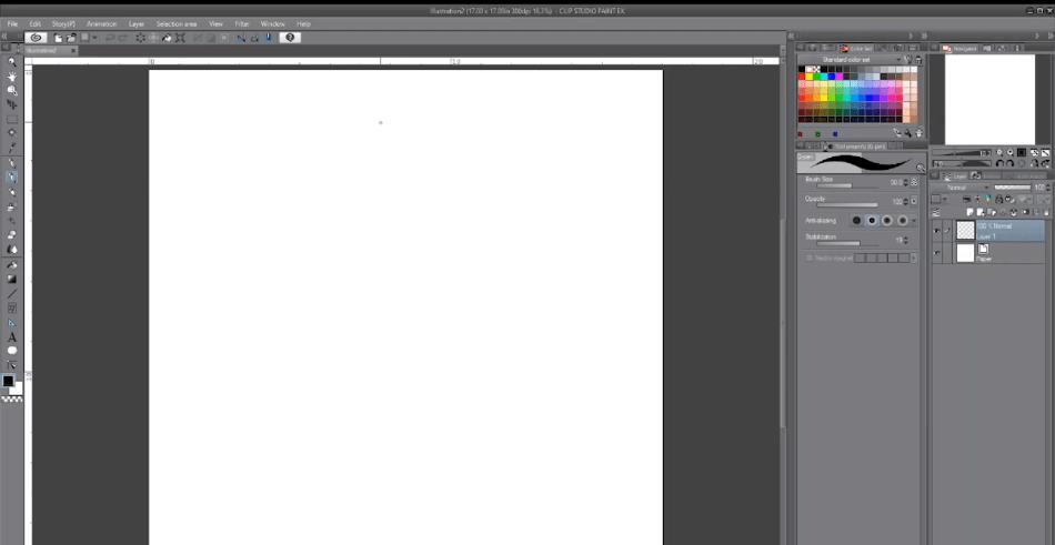 ClipStudioPaintartboard