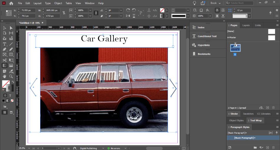 In Design car gallery