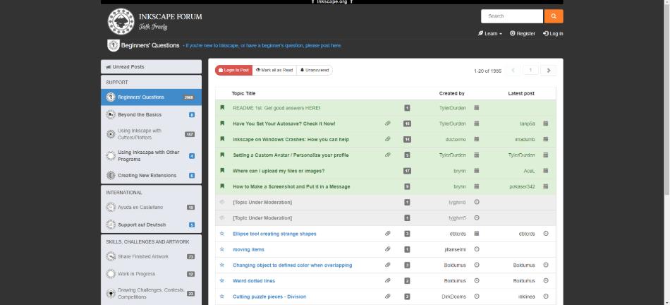 inkscape forum