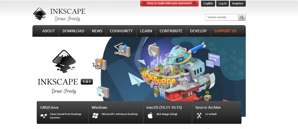 inkscape website