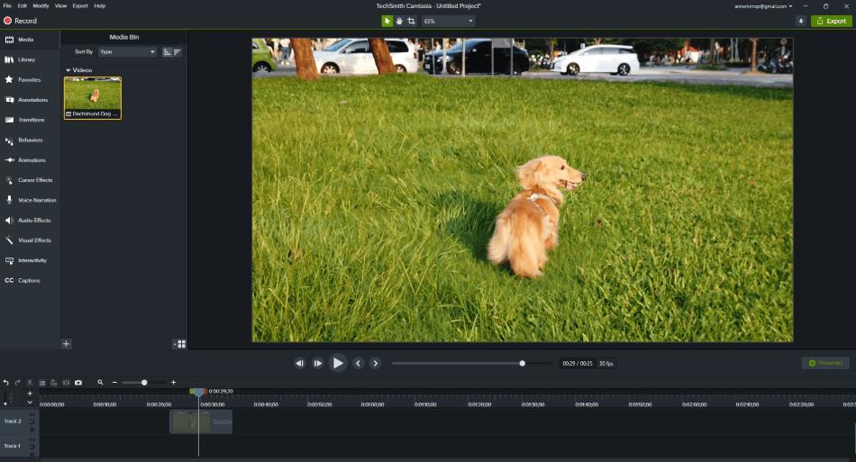 filmora adjusting video on timeline