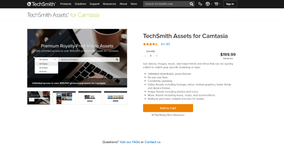 tech smith for camtasia