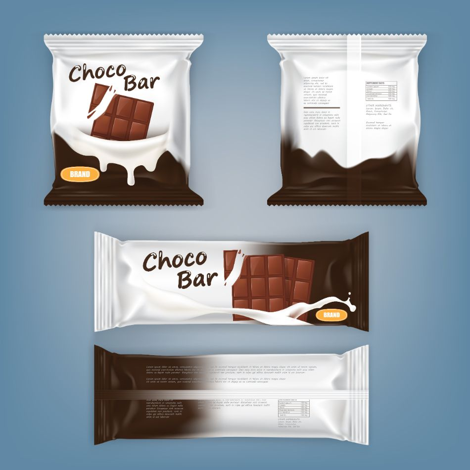 Graphic Type Packaging