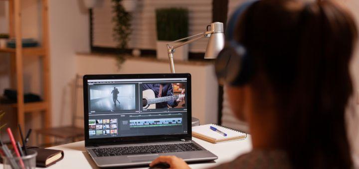 filmmaker editing video