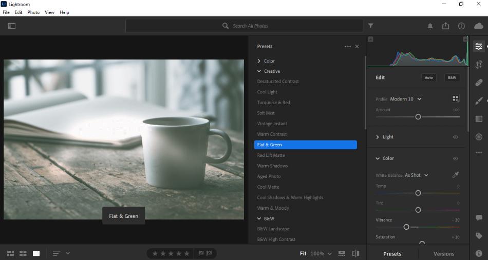 Adobe Lightroom Workflow