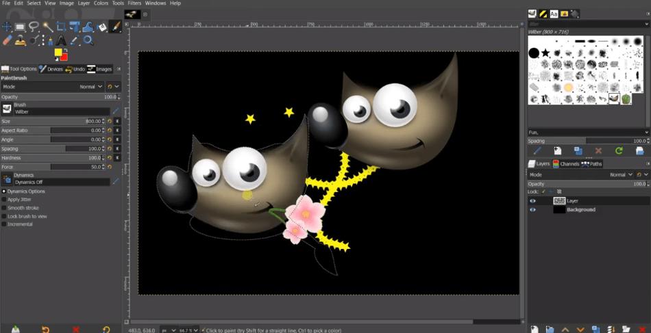 GIMPFeatures
