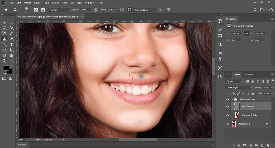 PhotoshopFrequencyBlemishes
